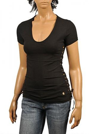 ROBERTO CAVALLI Ladies Short Sleeve Top #173