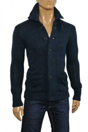 DOLCE & GABBANA Men's Warm Button Up Sweater #215