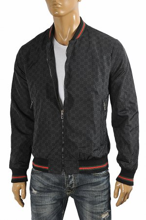 GUCCI men's GG bomber jacket 167