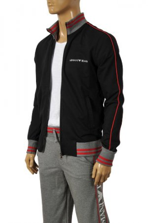 ARMANI JEANS Men's Zip Up Tracksuit #114