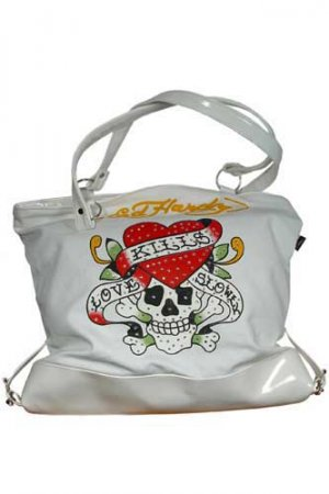 ED HARDY By Christian Audigier Multi Print Ladies Bag #1