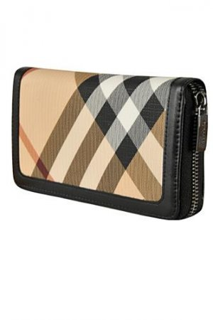 BURBERRY Signature Check Wallet #49