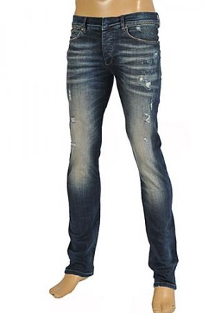 Roberto Cavalli Men's Fitted Jeans #110