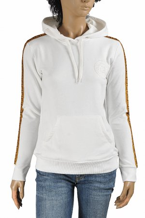 FENDI women's cotton hoodie with logo embroidery 39