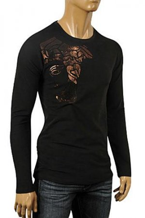 VERSACE Men's Long Sleeve Fitted Shirt #159
