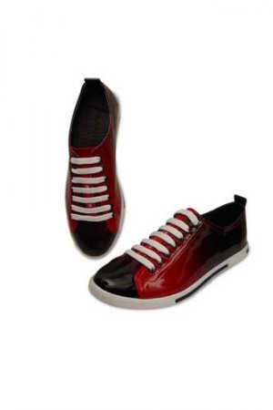 PRADA Ladies Leather Sneaker Shoes #112