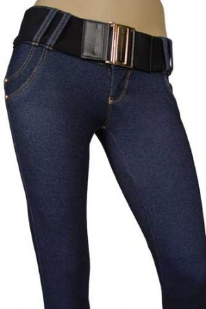 DOLCE & GABBANA Ladies Skinny Leg JEANS With Belt #140
