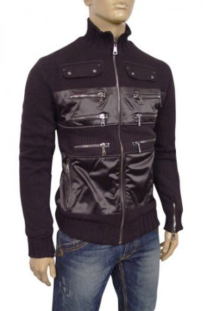 DOLCE & GABBANA Mens Zip Jacket with Fur Inside #303