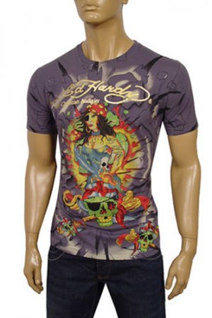 ED HARDY By Christian Audigier Short Sleeve Tee #36