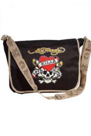 ED HARDY By Christian Audigier Multi Print Ladies Bag #5