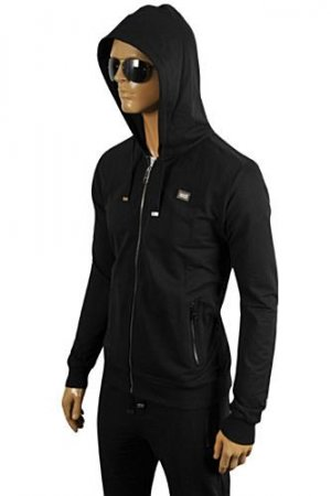 DOLCE & GABBANA Men's Zip Up Hooded Tracksuit #411