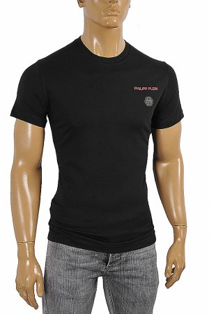 PHILIPP PLEIN Cotton T-shirt In Black 6