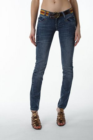 GUCCI Ladies Jeans With Belt #87