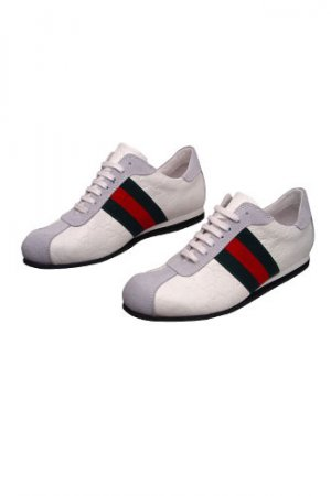 GUCCI Mens Leather Sneakers Shoes #151