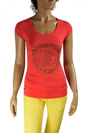 ROBERTO CAVALLI Ladies Short Sleeve Top #133