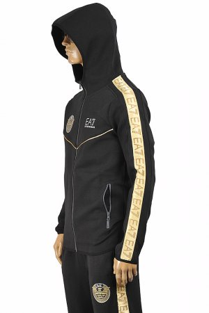 EMPORIO ARMANI Men's Zip Up Hooded Tracksuit 134