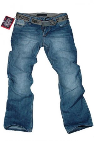 DSQUARED JEANS WITH BELT #1, New with tags