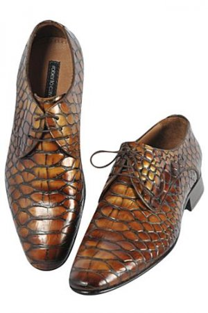 ROBERTO CAVALLI Men's Loafers Dress Shoes #296