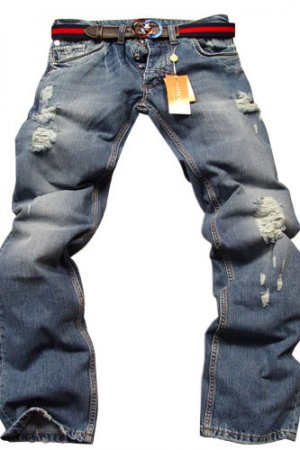 GUCCI Mens Jeans With Belt #37