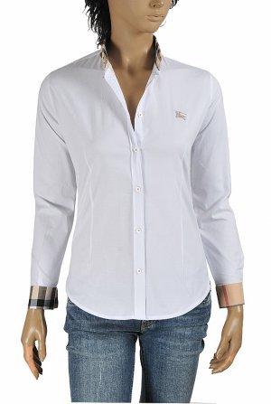 DF NEW STYLE, BURBERRY Ladies' Button Down Dress Shirt 276