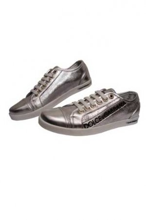 DOLCE & GABBANA Lady's Leather Sneaker Shoes #107