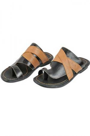 DOLCE & GABBANA Mens Leather Sandals #203