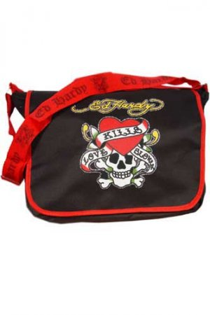 ED HARDY By Christian Audigier Multi Print Ladies Bag #4