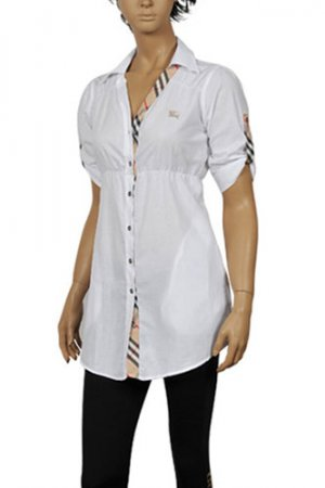 BURBERRY Ladies Button Up Shirt #104
