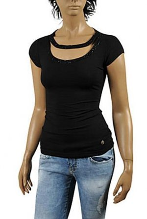 ROBERTO CAVALLI Ladies Short Sleeve Top #127