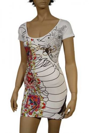 Ed Hardy by Christian Audigier Lady's Short Sleeve Dress #12