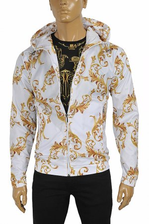 VERSACE Men's Zip up Hooded Jacket #22