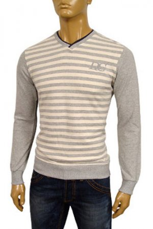 DOLCE & GABBANA Mens V-Neck Sweater #170