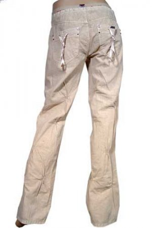 DOLCE & GABBANA Ladies Drawstring Loose Pants #119
