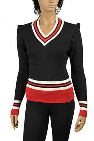 GUCCI Women's V-Neck Knit Sweater #100