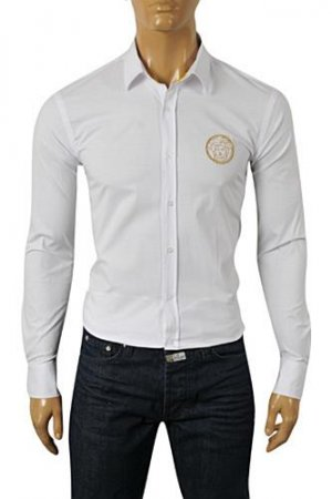 VERSACE Men's Button Up Dress Shirt #158