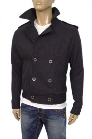 EMPORIO ARMANI Mens Cotton Jacket With Fur Inside #72