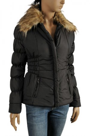DOLCE & GABBANA Ladies Warm Hooded Jacket #384
