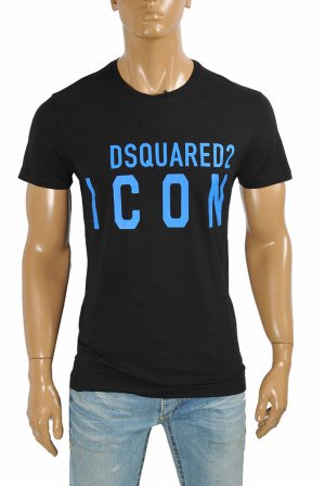 DSQUARED Men's T-Shirt with front print 12