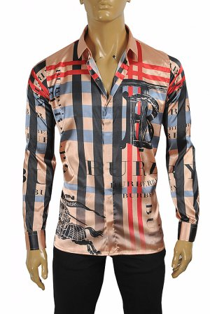 BURBERRY men's dress shirt 282