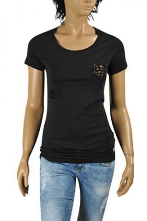 ROBERTO CAVALLI Ladies Short Sleeve Top #161