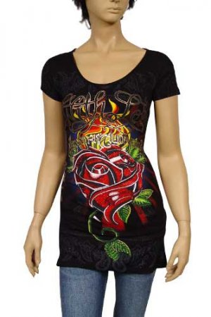 CHRISTIAN AUDIGIER Multi Print Short Sleeve Tunic #81
