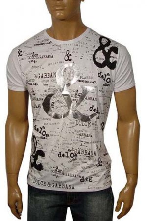 DOLCE & GABBANA Short Sleeve Tee, 2012 Winter Collection #46