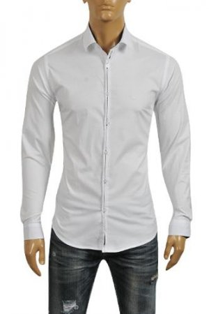 Armani Dress Shirt for men #236
