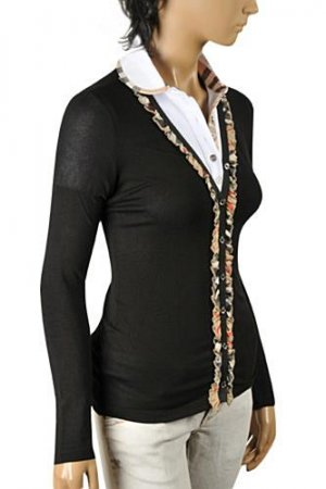 BURBERRY Ladies' Button Up Cardigan/Sweater #219