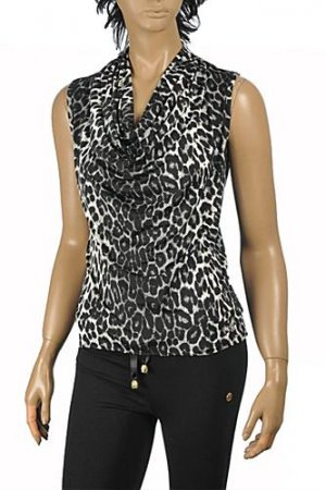 ROBERTO CAVALLI Ladies Short Sleeve Top #170