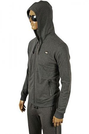 DOLCE & GABBANA Men's Zip Up Hooded Tracksuit #410