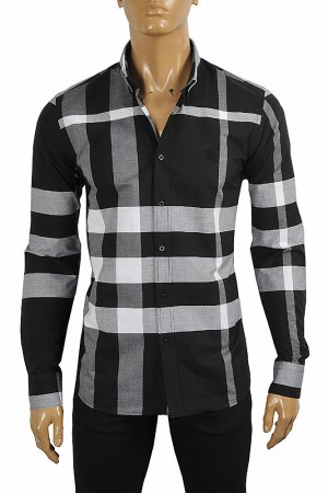 BURBERRY Men's Stretch Cotton Poplin Shirt 283
