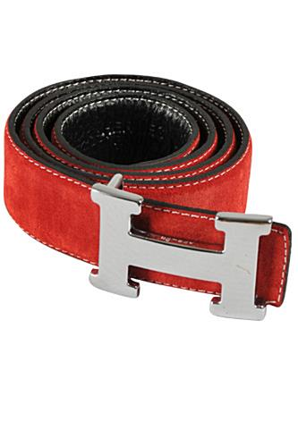 HERMES Men's Leather Reversible Belt #39