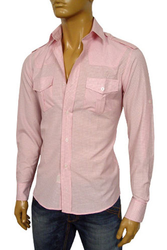 EMPORIO ARMANI Mens Dress Shirt #128