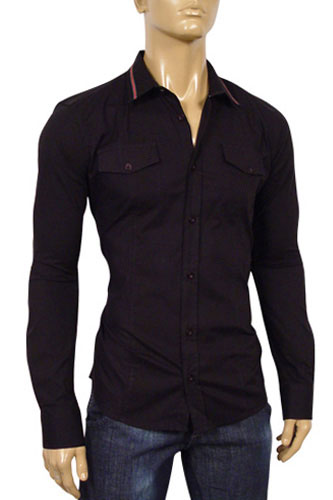 GUCCI Mens Dress Fitted Shirt #133